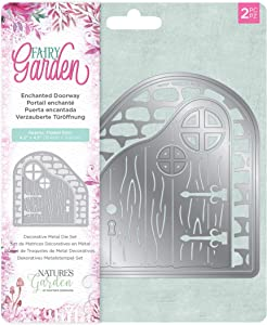 Natures Garden NG MD-EDOO Crafter's Companion Fairy Garden-Metal Die-Enchanted Doorway, Various