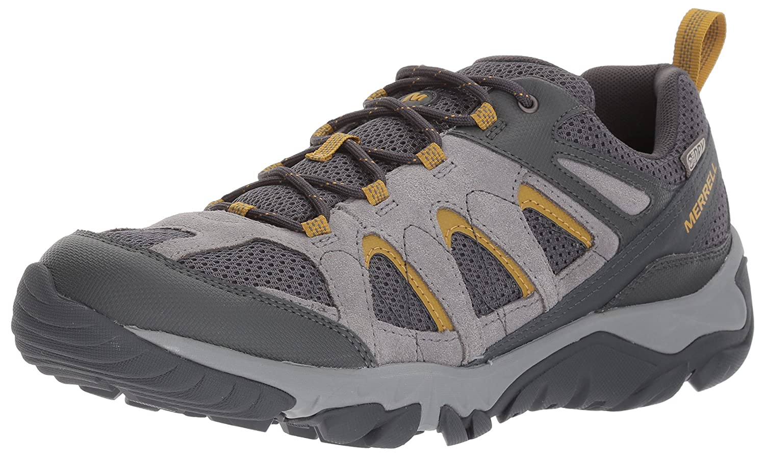 Merrell Men's Outmost Vent Waterproof Hiking Shoe B01N6GYBUN 07 M US|Frost Grey