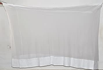 Fashion Centre Cotton Mosquito Net 7*6.5Ft, White