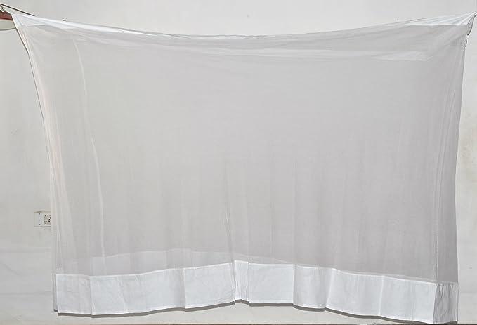 Fashion Centre Cotton Mosquito Net 3*6.5Ft, White