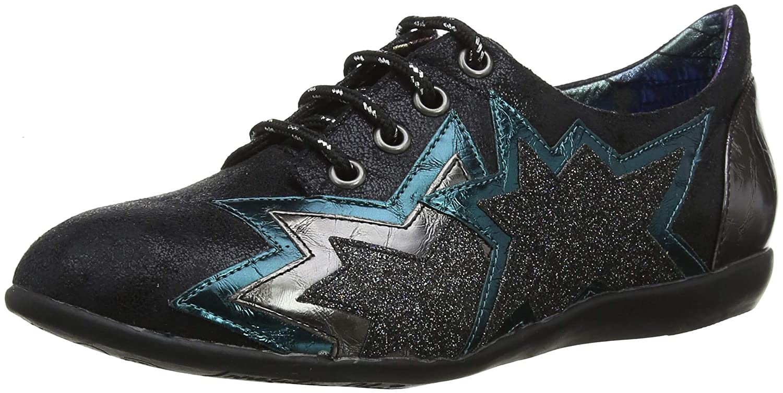 TALLA 37 EU. Irregular Choice Star Light, Zapatos de tacón con Punta Cerrada para Mujer