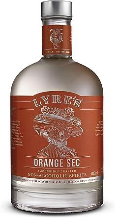 Lyres Orange Sec Bebida espirituosa sin Alcohol - Estilo Triple Sec   Premiado   700ml