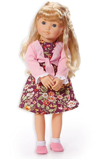 Bayer Design 94637 Designer Girl Puppe Louise Mit Langen Blonden