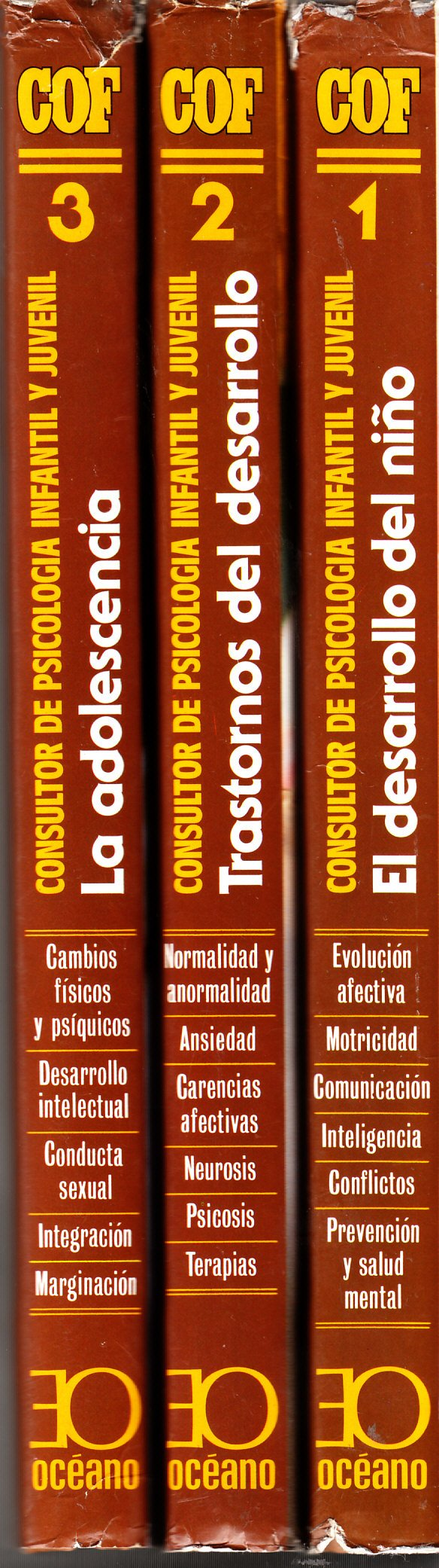 Consultoría de Psicología Infantil y Juvenil (Volume 1: El Desarrolo del niño. Volume 2: Trastorno del Desarrollo. Volume 3: La Adolescencia)): Various ...