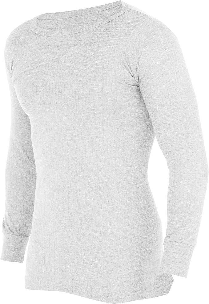 Floso Camiseta Interior//b/ásica de Manga Larga t/érmica para Hombre Gama Alta Viscolatex