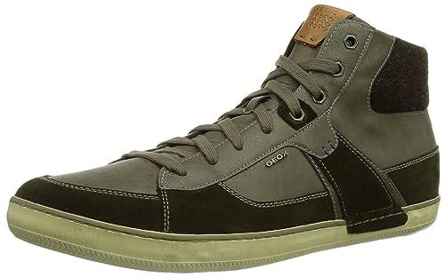 3c4a05e2b Geox U BOX - zapatillas deportivas altas de piel hombre  Geox  Amazon.es   Zapatos y complementos