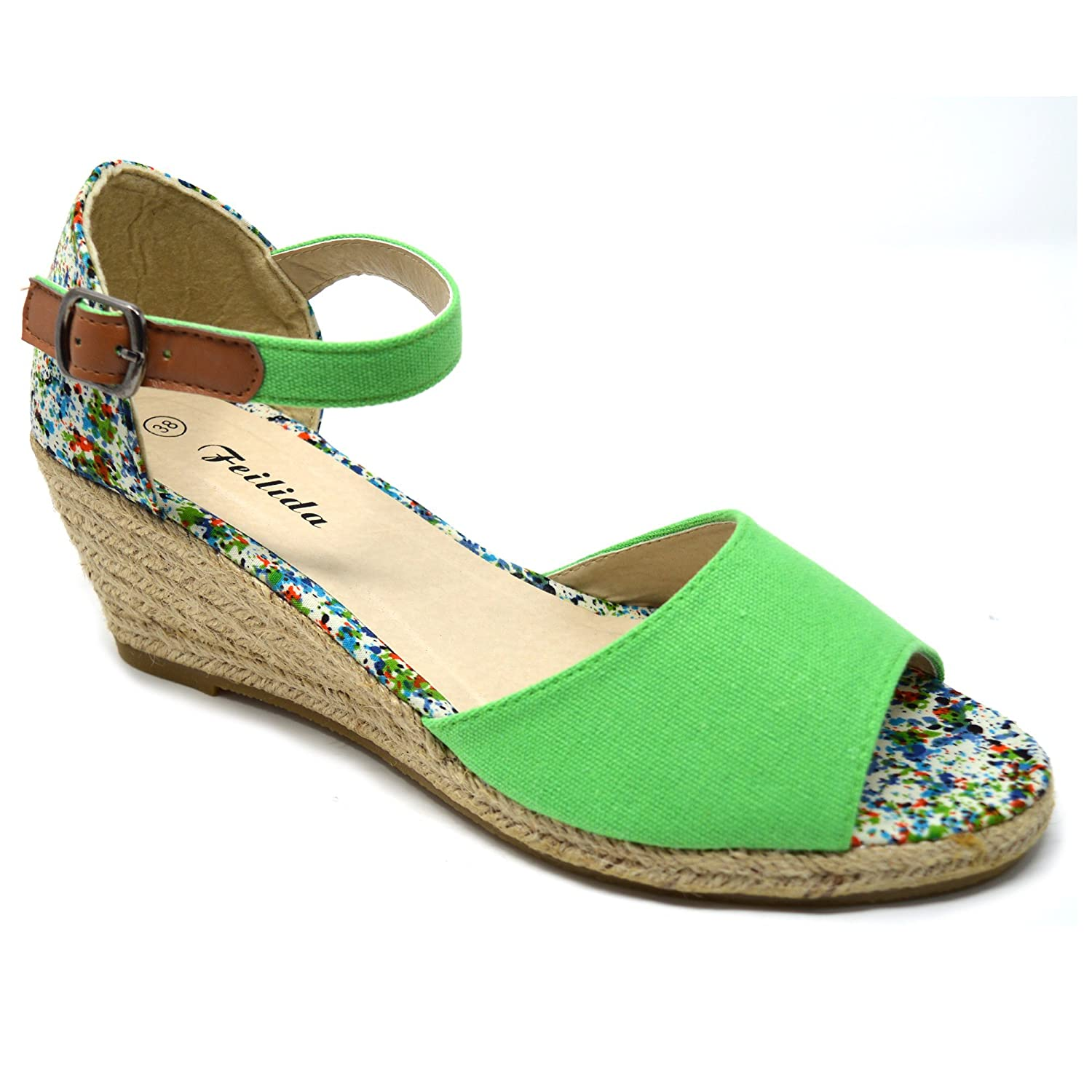 Xelay , Sandales Sandales pour Green Femme Xelay Green 63d475f - shopssong.space