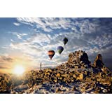1000 pieces of Wooden Puzzle Toys, Hot Air Balloon