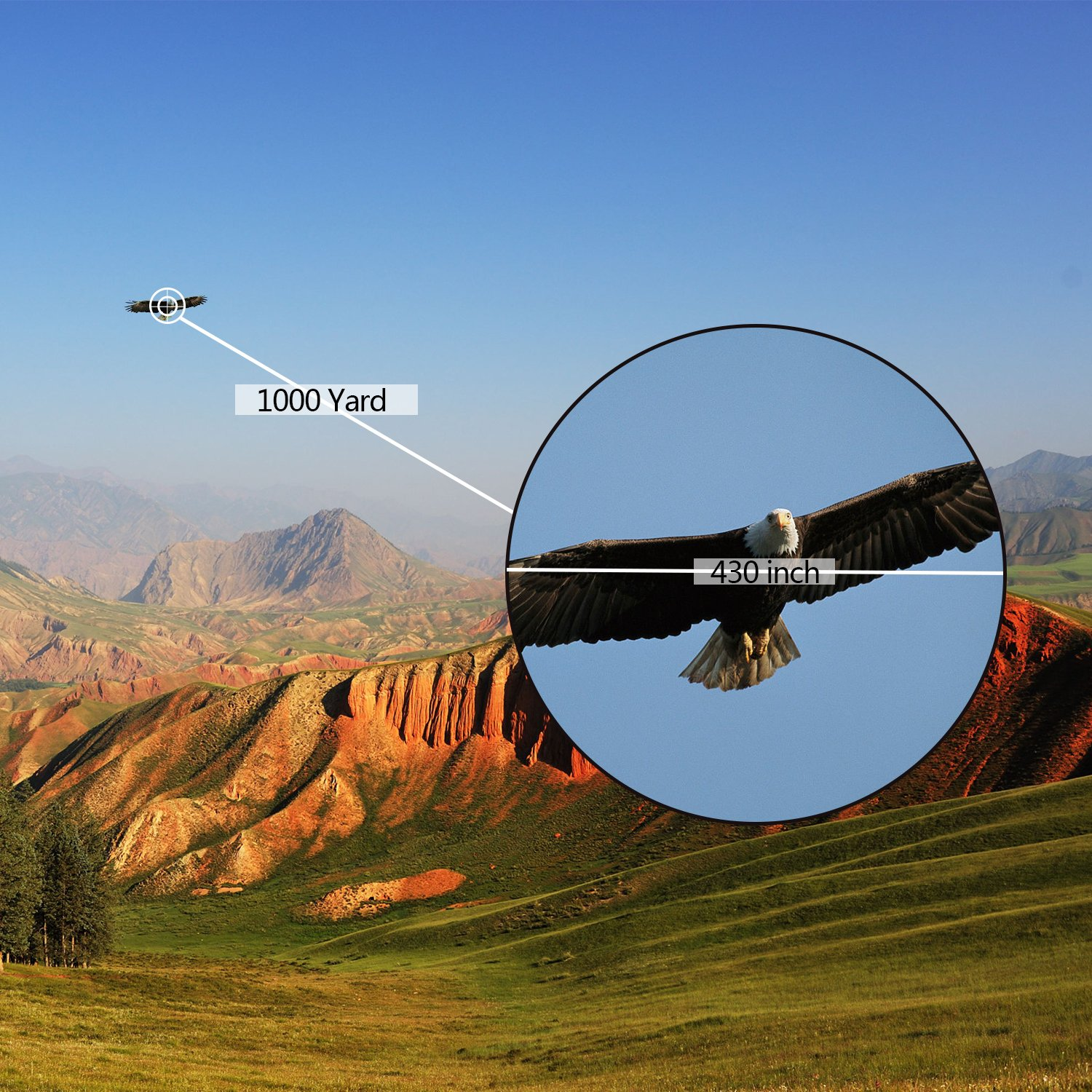how to use dual focus monocular