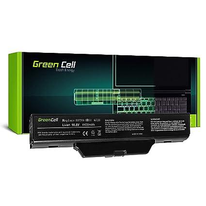 Green Cell® Standard Serie HSTNN-IB51 / HSTNN-LB51 / HSTNN-OB51 Batería para HP Compaq 550 610 615 6720s 6730s 6735s 6820s 6830s Ordenador (6 Celdas 4400mAh ...