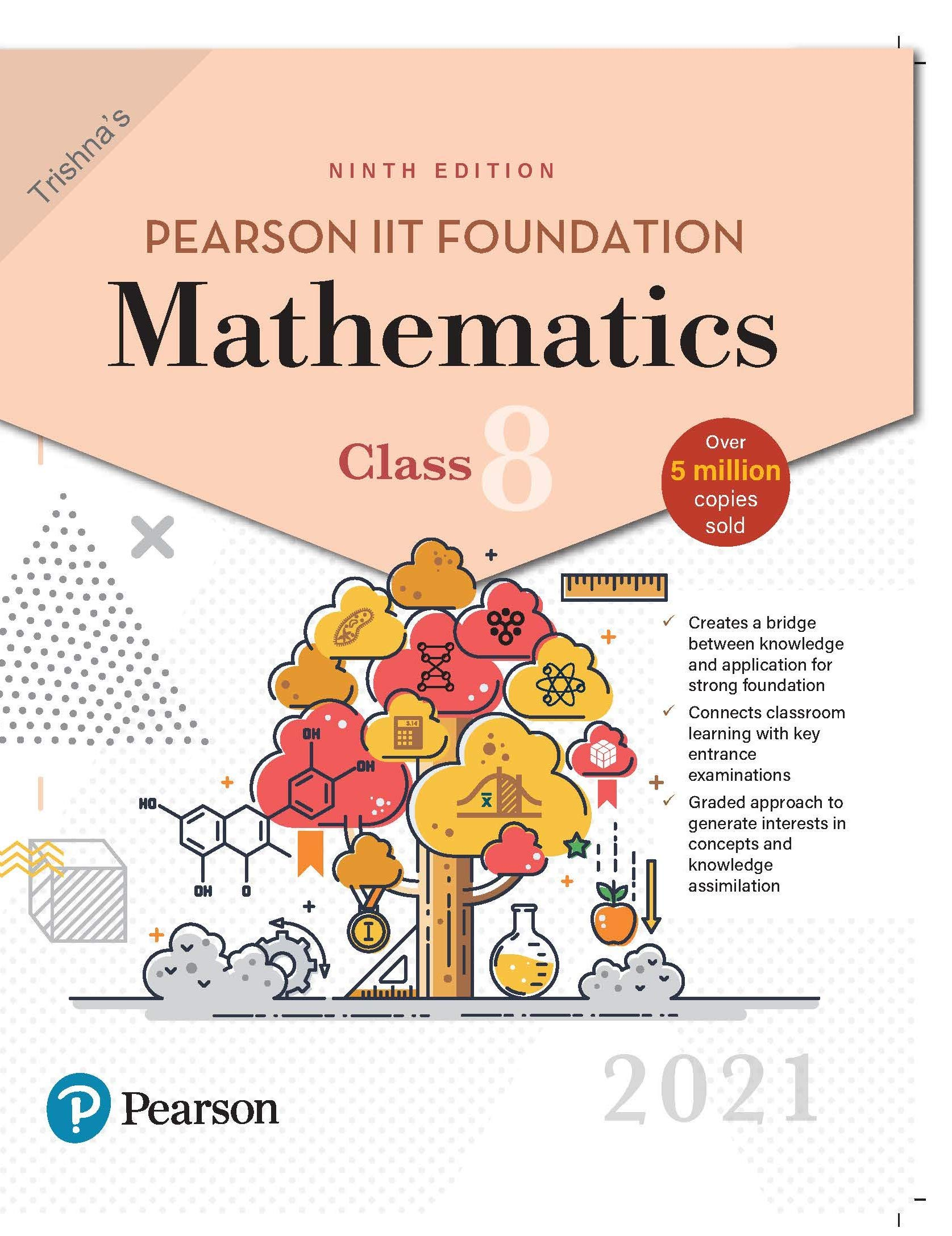 Pearson IIT Foundation Mathematics | Class 8| 2021 Edition| By Pearson