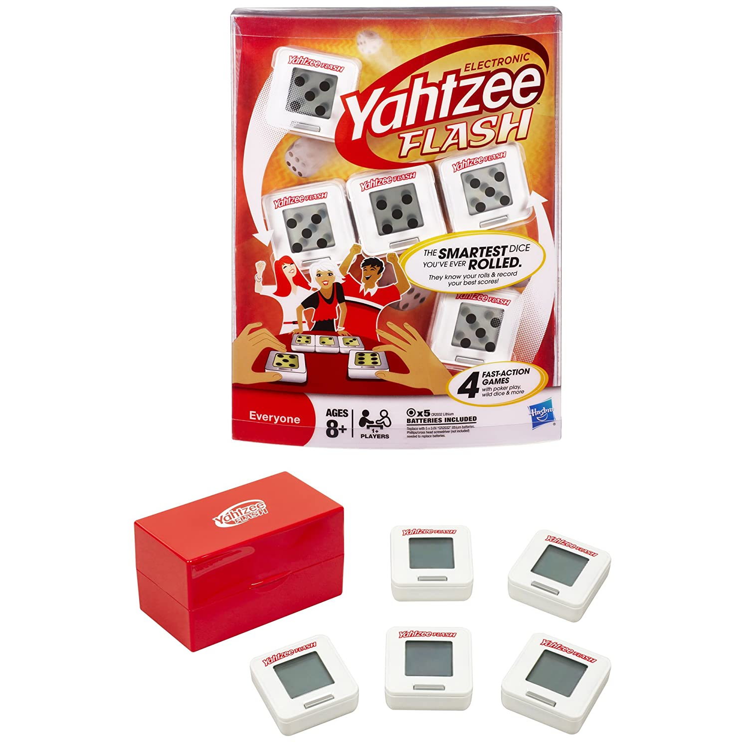 Amazon Electronic Yahtzee Flash Toys Games