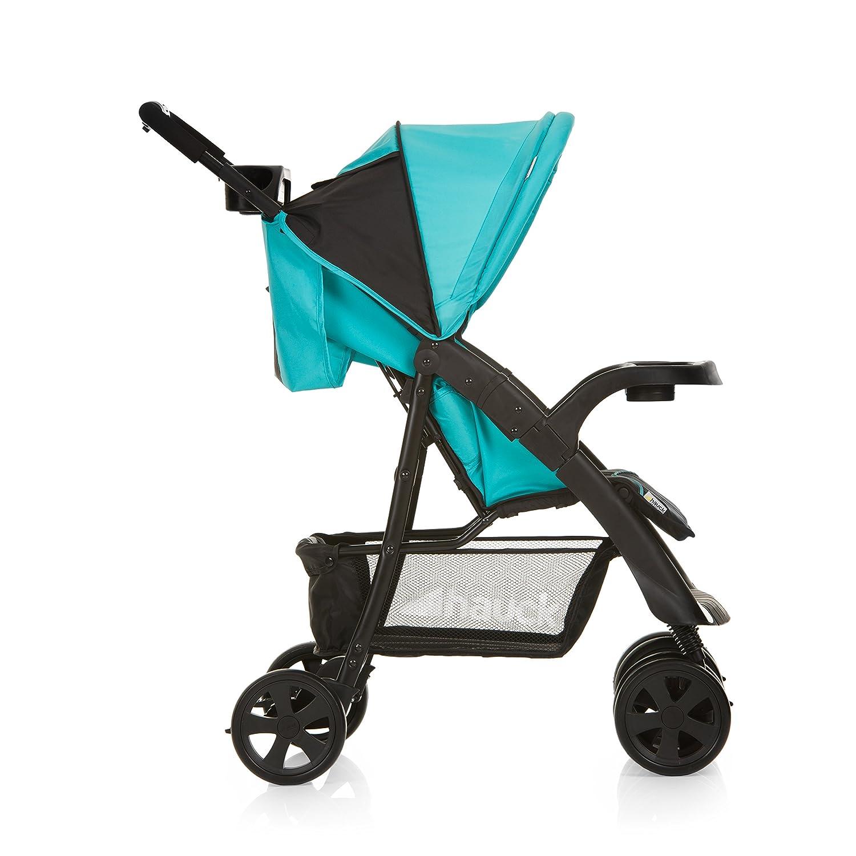Amazon.com: Hauck Shopper comfortfold carriola – Negro/Aqua ...