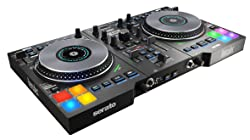 Hercules DJControl Jogvision, USB DJ controller for Serato with in-jog displays and AIR controls