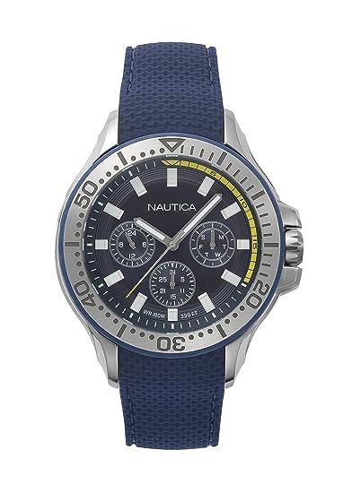 0a90114a77c3 Náutica Napauc003 Reloj Análogo De Caballero para Hombre