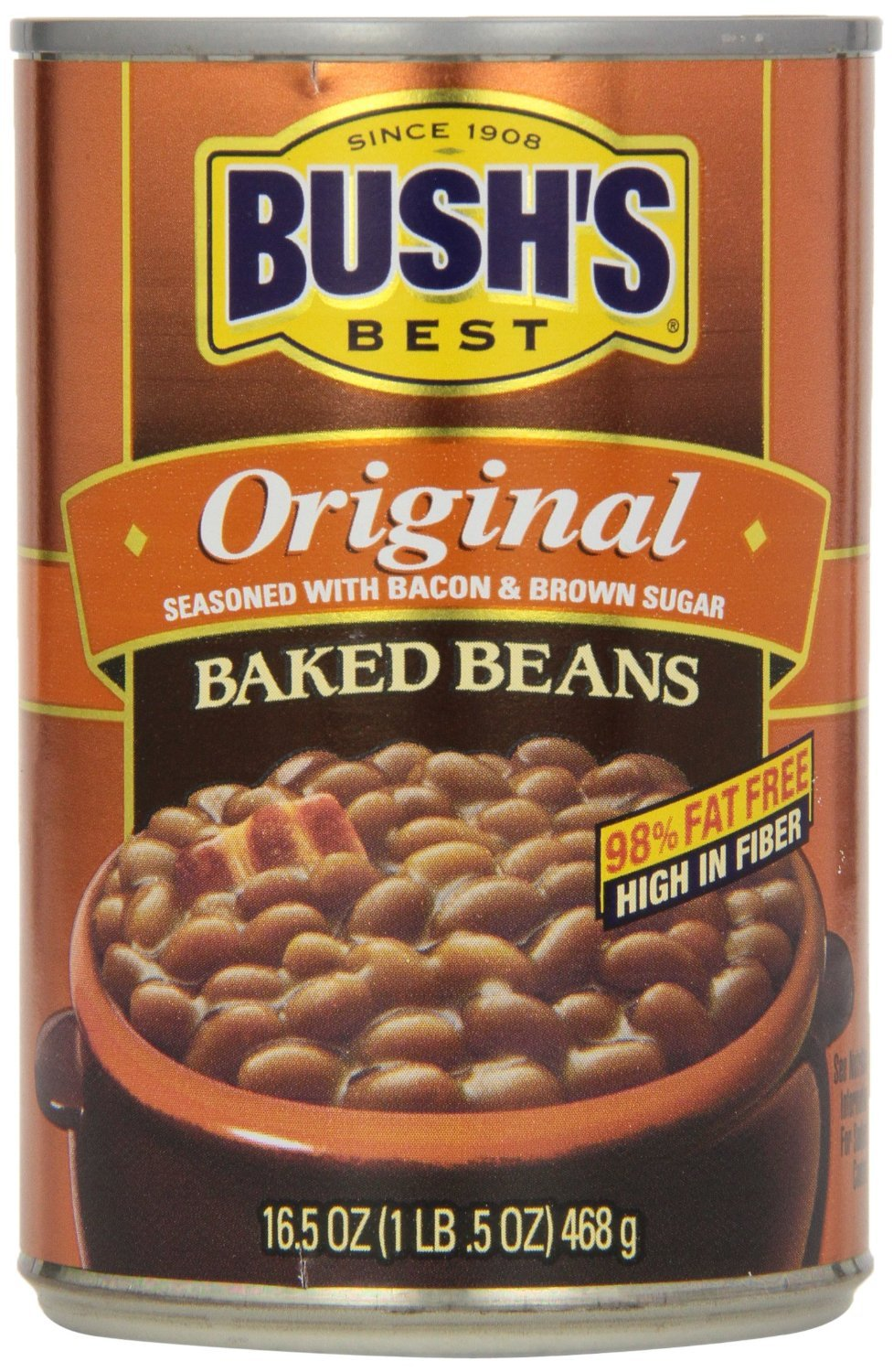 Amazon Com Bush S Best Baked Beans 8 16 5oz Cans Grocery Gourmet Food