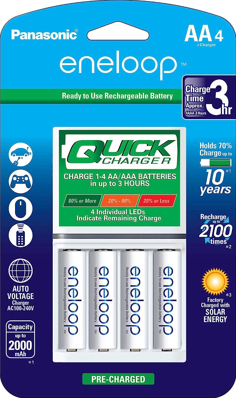 Color Claro DG-BT5C Batería de suministro SANWA caso para Batería AA AAA Eneloop
