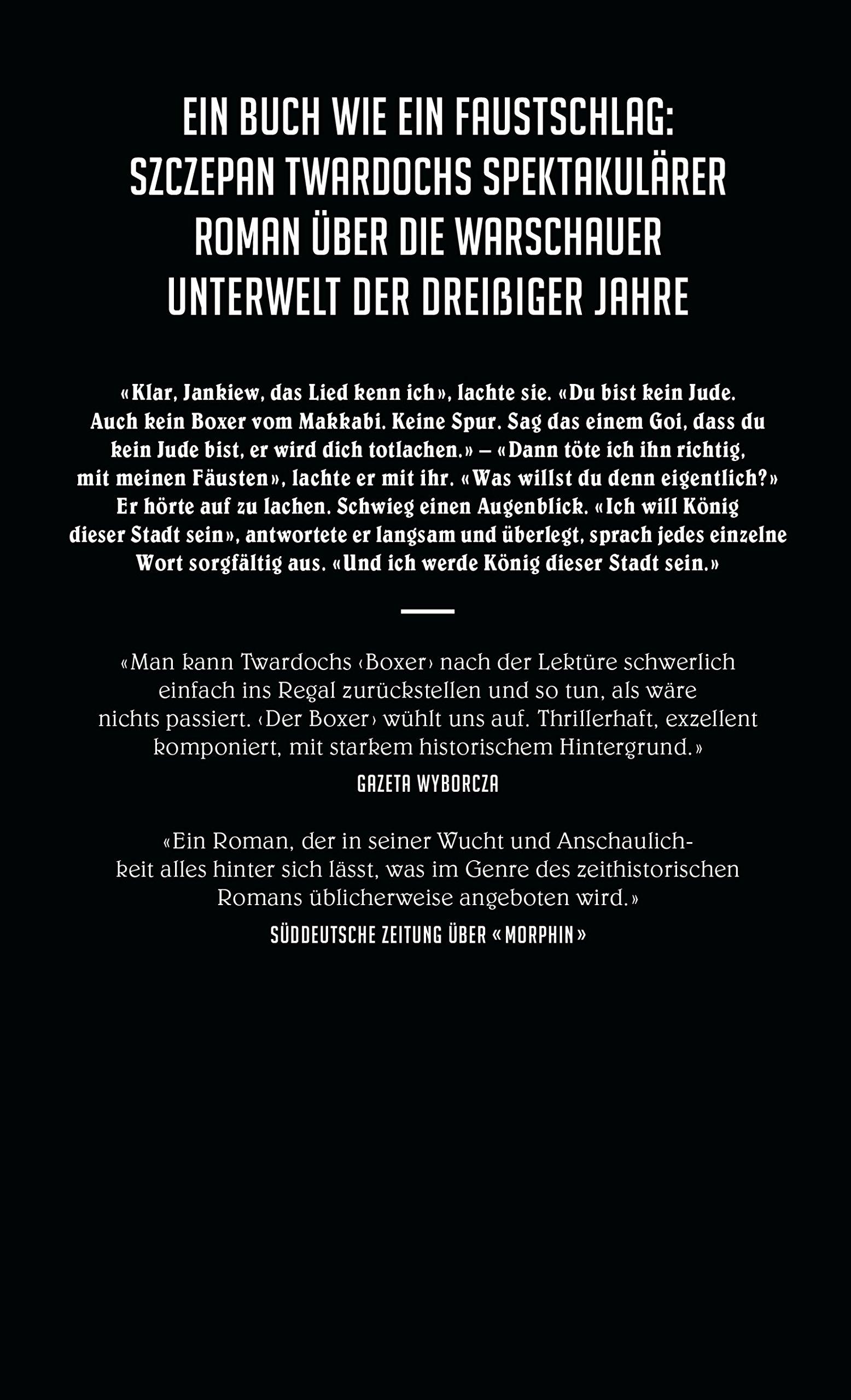 Der Boxer: Amazon.de: Szczepan Twardoch, Olaf Kühl: Bücher