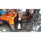 Moto Activ Diamond Plate Floor Mats Semi-Black for Polaris RANGER RZR 800 2010-2014