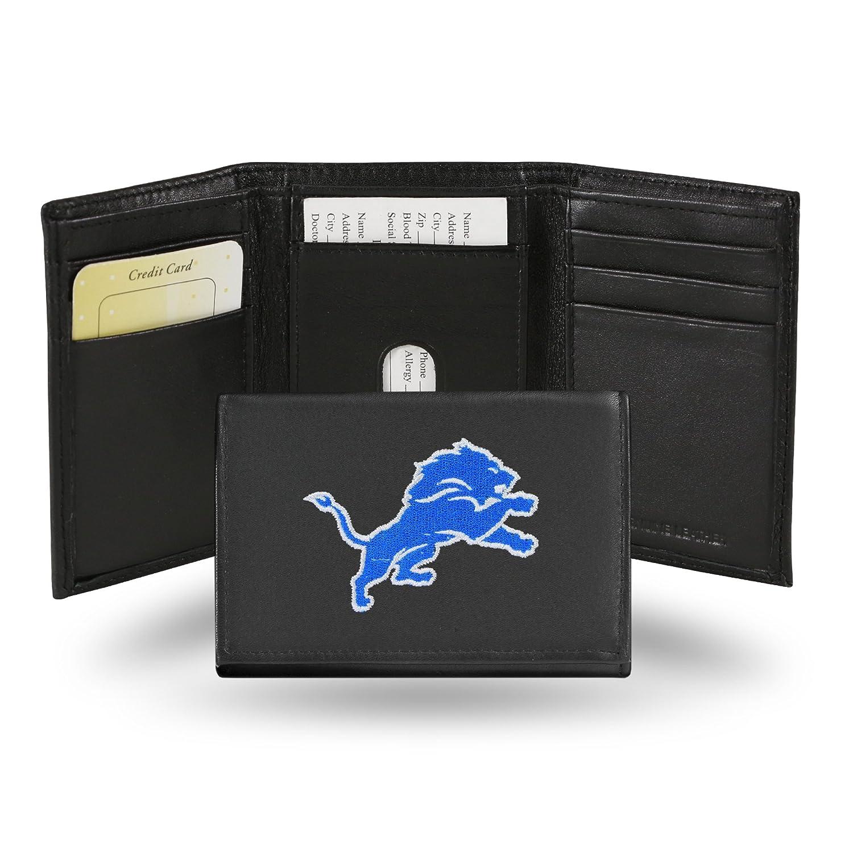 auténtico Cartera de Tres Bolsillos con Bordado de la NFL, Unisex Unisex Unisex Hombre, RTR2402, Detroit Lions, Talla única  ahorrar en el despacho