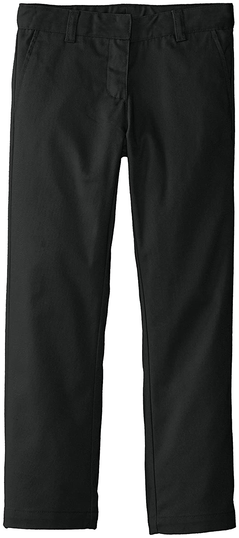 KHQ Little Girls' 4-6X Twill Pant Black KHQ Uniforms Girls 2-6x