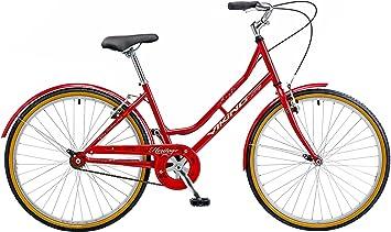 Viking - Bicicleta de paseo (Trekking, para mujer, Retro, tradicional, 1 velocidad, menos de 3 velocidades) , talla 19