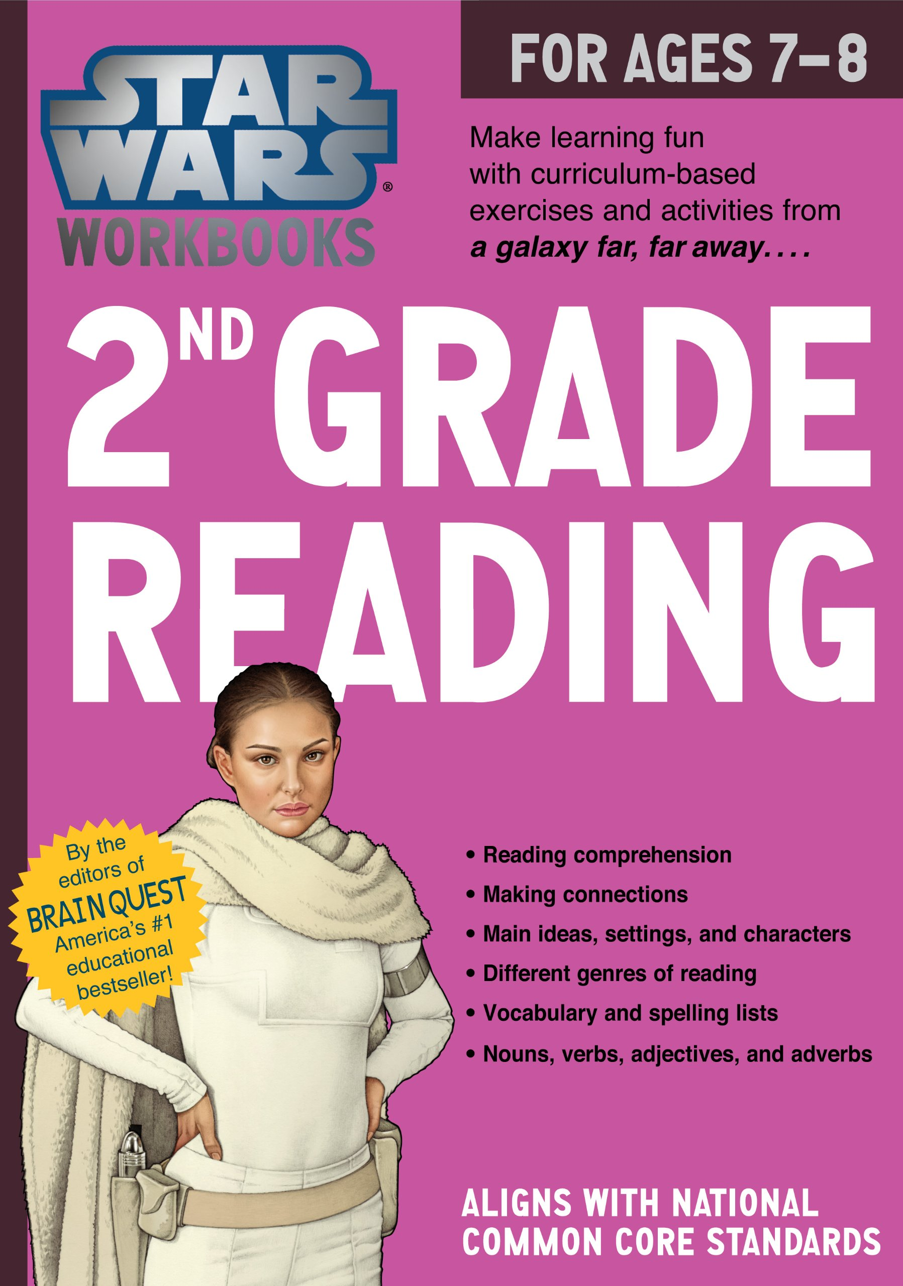 Star Wars Workbook: 2nd Grade Reading (Star Wars Workbooks): Workman ...