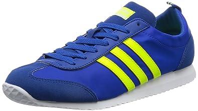 adidas Vs Jog, Chaussures de Tennis Homme, Bleu (Azul/Amasol/Ftwbla), 40 2/3 EU