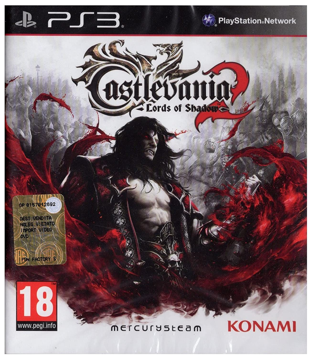 Castlevania Lords of Shadow 2 PS3 Amazon Video Games
