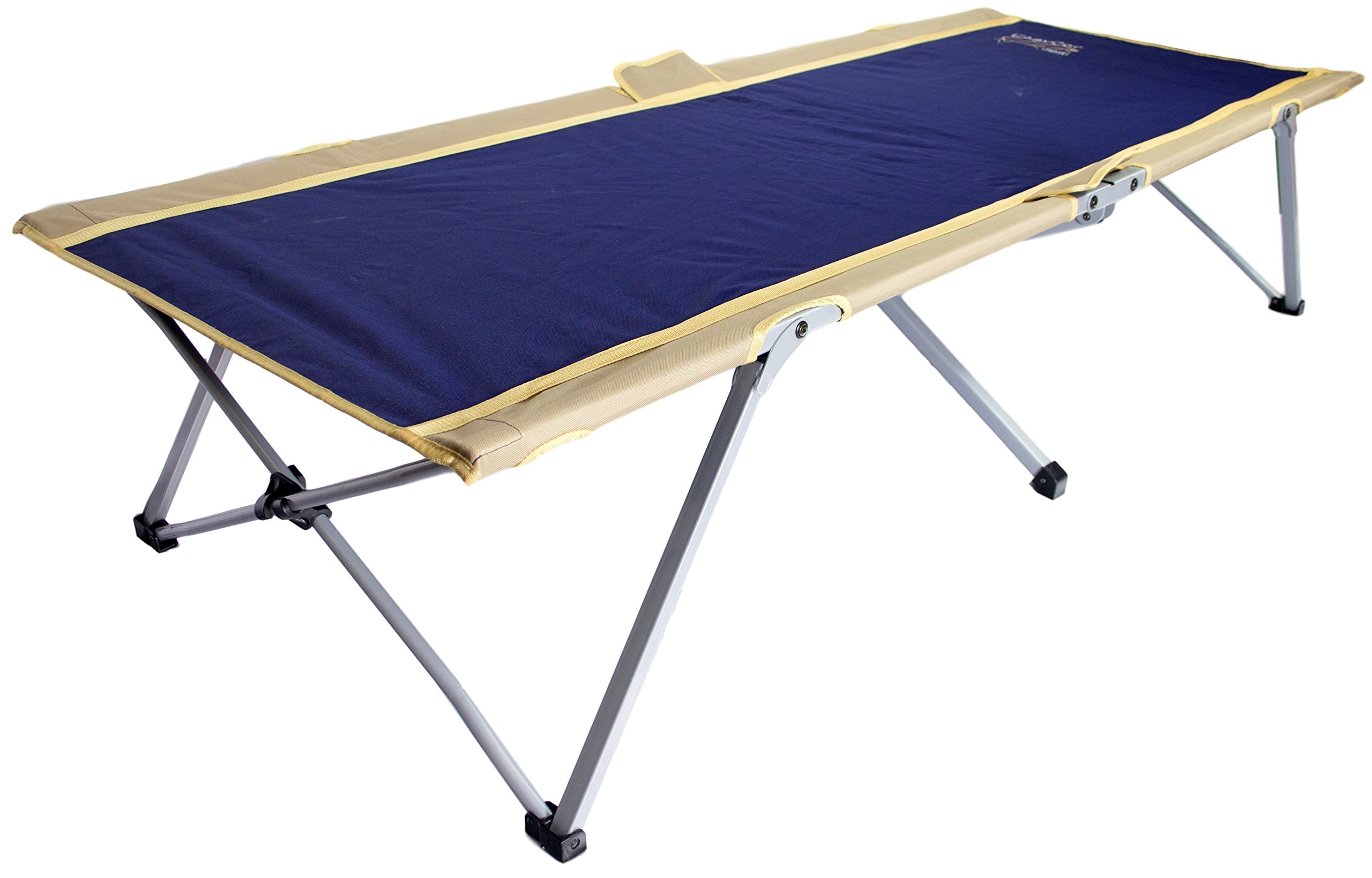 Byer of Maine Easy Cot, Ideal for Camping and Hunting, Indoor Guest Bed, Easiest Cot to Assemble, Comes with Travel Bag, Single/Twin Size