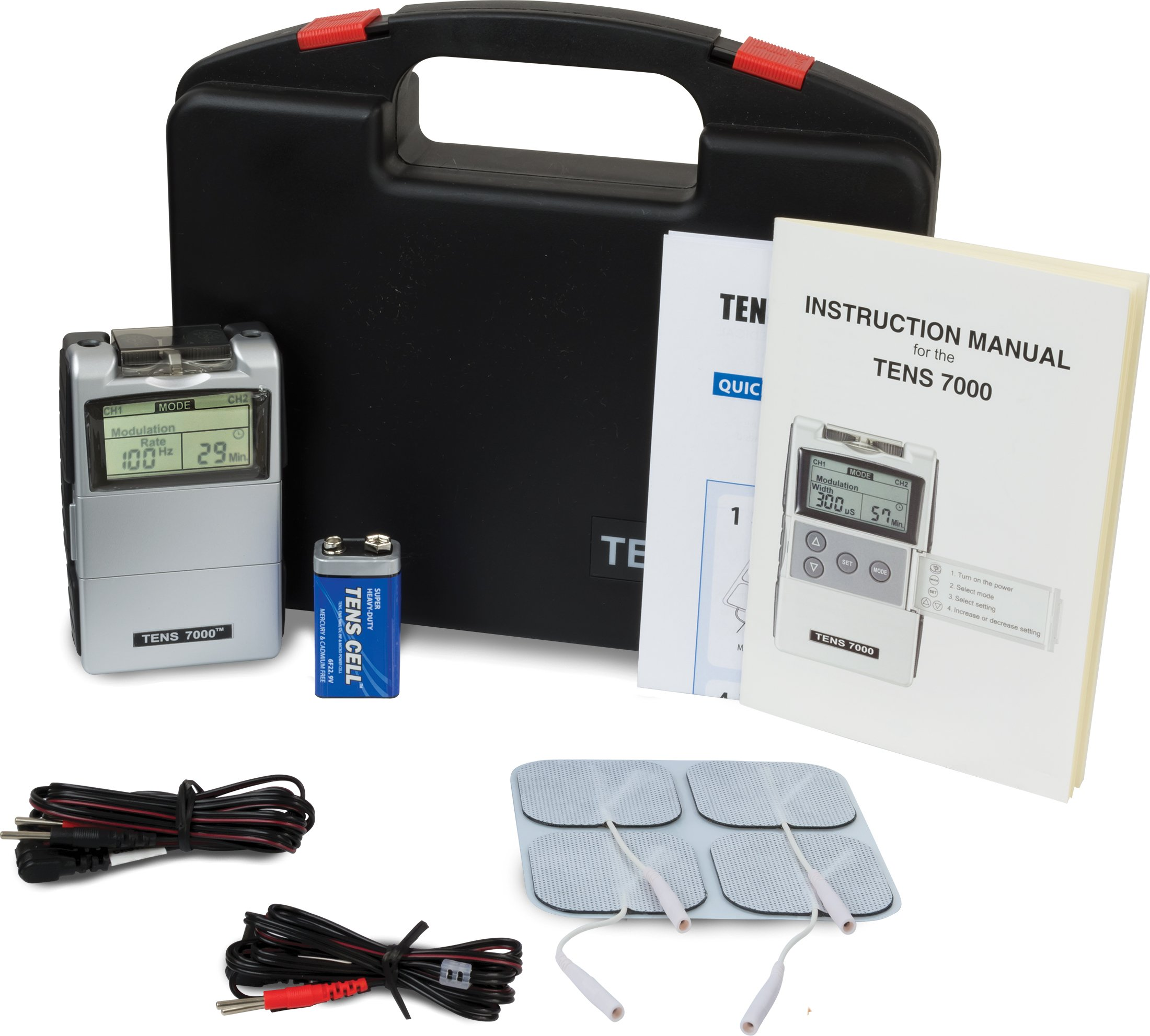 Amazon.com: TENS 7000 2nd Edition Digital TENS Unit with accessories:  Industrial & Scientific