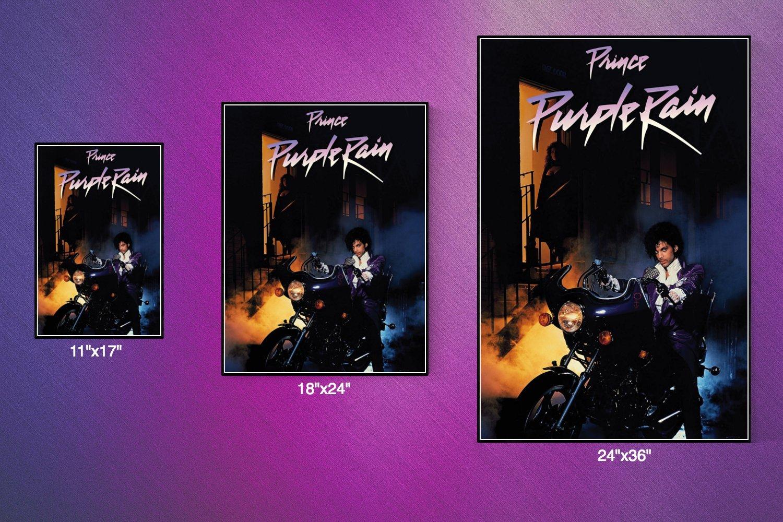 Amazon 777 Tri Seven Entertainment Prince Purple Rain Movie Poster 11 X 17 Posters Prints