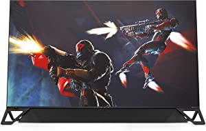 HP Omen X Emperium 65 inch Big Format Gaming Display, (4JF30AA#ABA), NVIDIA G-SYNC HDR, 4K UHD, 144hz Refresh Rate, with 120 Watt Sound Bar
