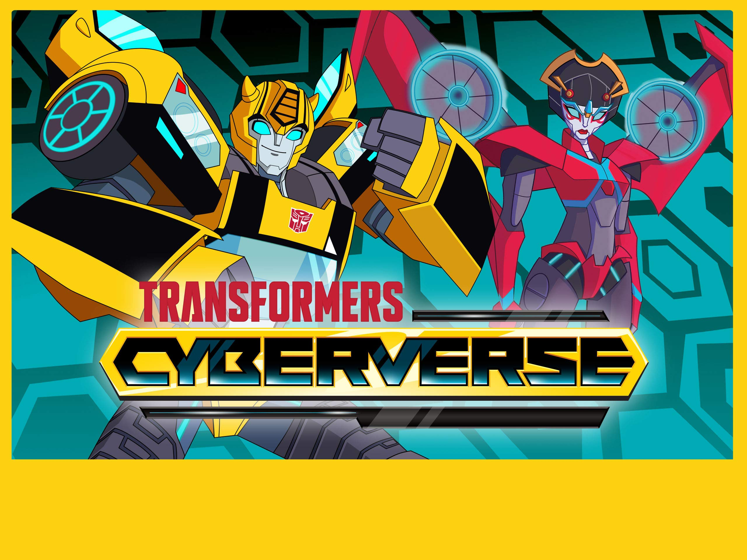 Transformers Cyberverse on Amazon Prime Video UK