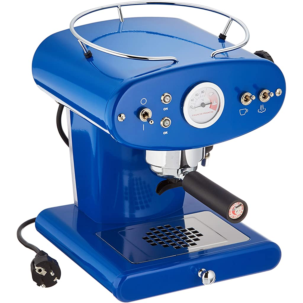 Francis Francis for Illy X1 Dark Blue Ground Coffee Machine