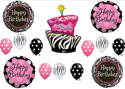 Image Unavailable Not Available For Color Zebra Stripe Cake Polka Dot Birthday