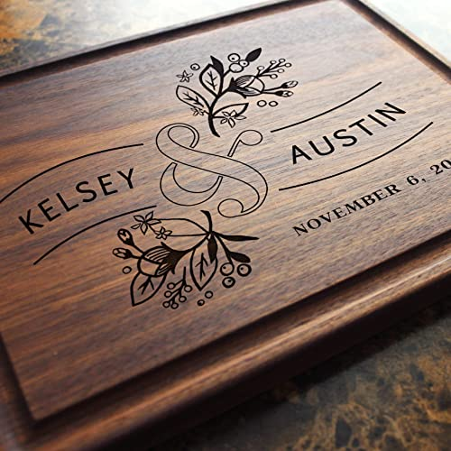 Custom Housewarming or Unique Wedding Gift Home New Mexico Personalized Cutting Board