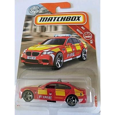 Matchbox 2020 MBX Rescue 15/30 - BMW M5: Toys & Games