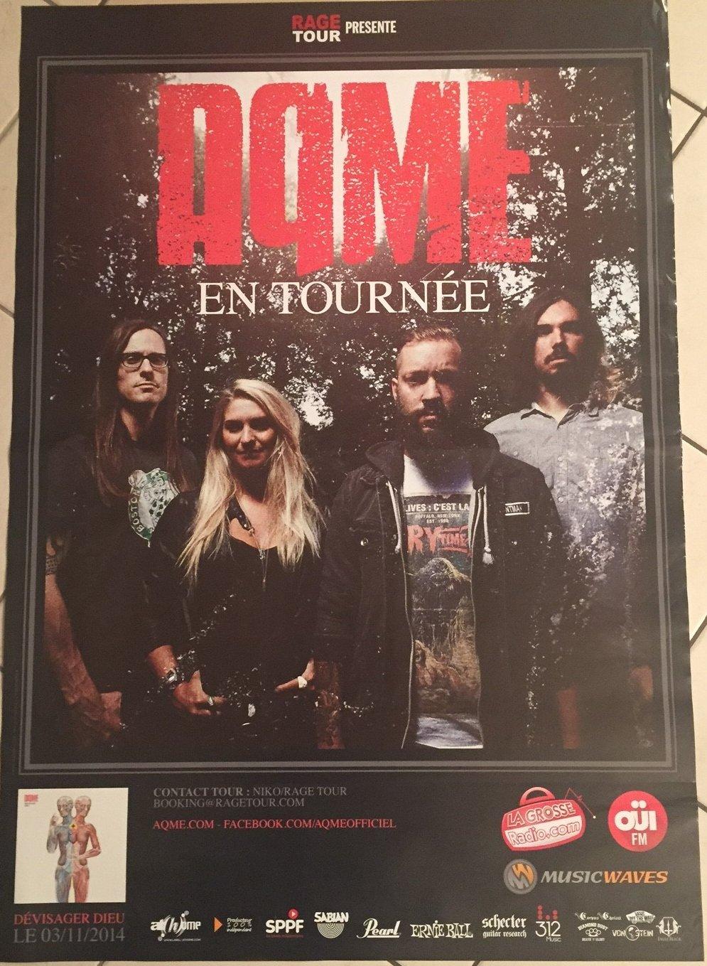 Aqme en concierto-70 x 100 cm, diseño de cartel-Póster ...
