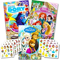 Disney Look and Find Books for Kids - Set of 3 Disney Find It Books Featuring Disney Princess, Frozen and More!