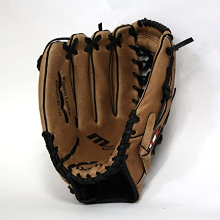 barnett leather baseball glove SL-125, outfield, size 12,5'',brown