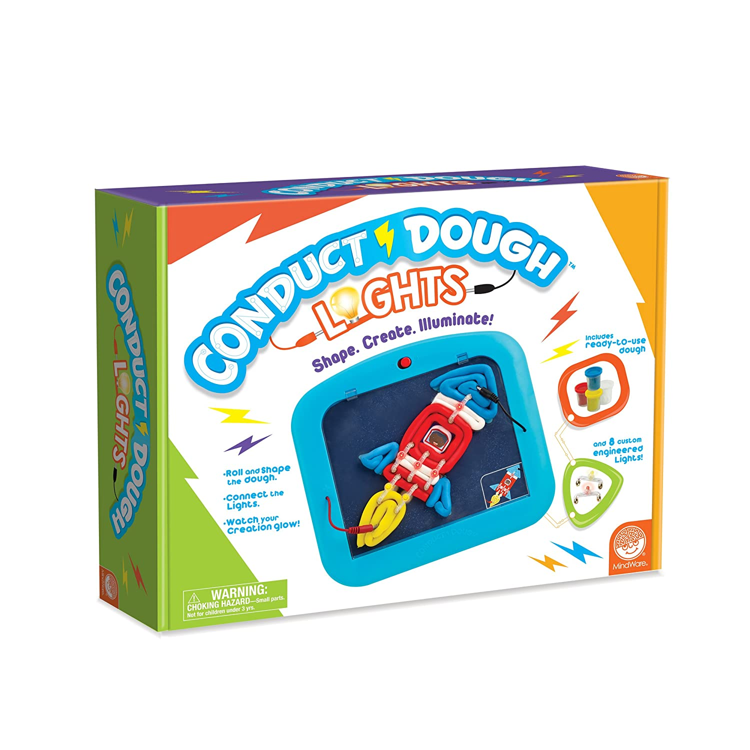 Mindware Conduct Dough Lights Toys Games Squishy Circuits Kit