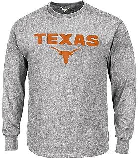 d66c09ce Texas Longhorns Adult Grey Reacher Long Sleeve Tee Shirt by 289c Apparel