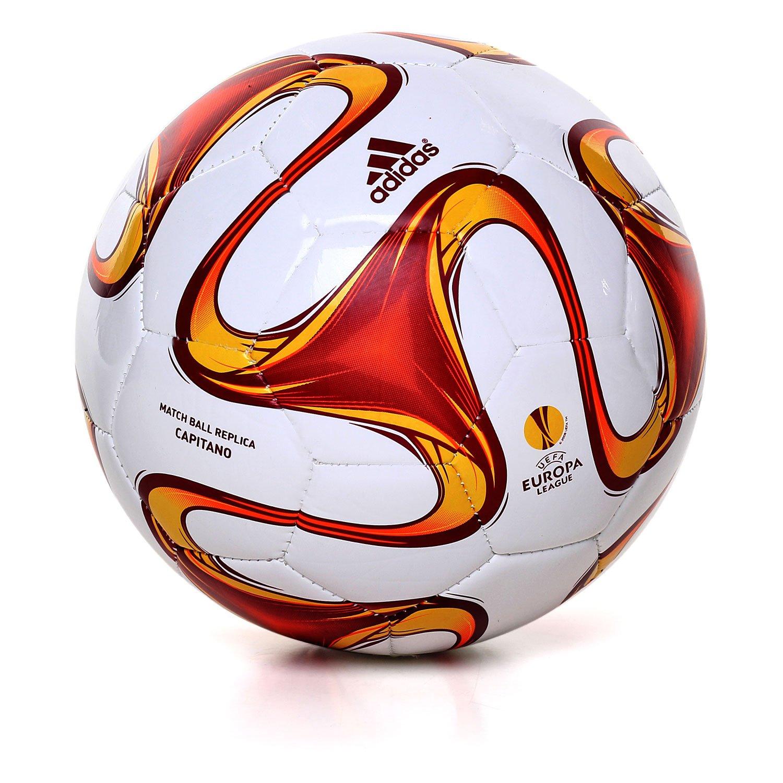 adidas Balón de Fútbol Uel Capitano Size 5 Blanco: Amazon.es ...