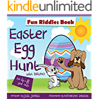 Easter Egg Hunt : Riddles for kids by ages 4-8: Great Easter Gift (Easter Children's Interactive Book Collection)