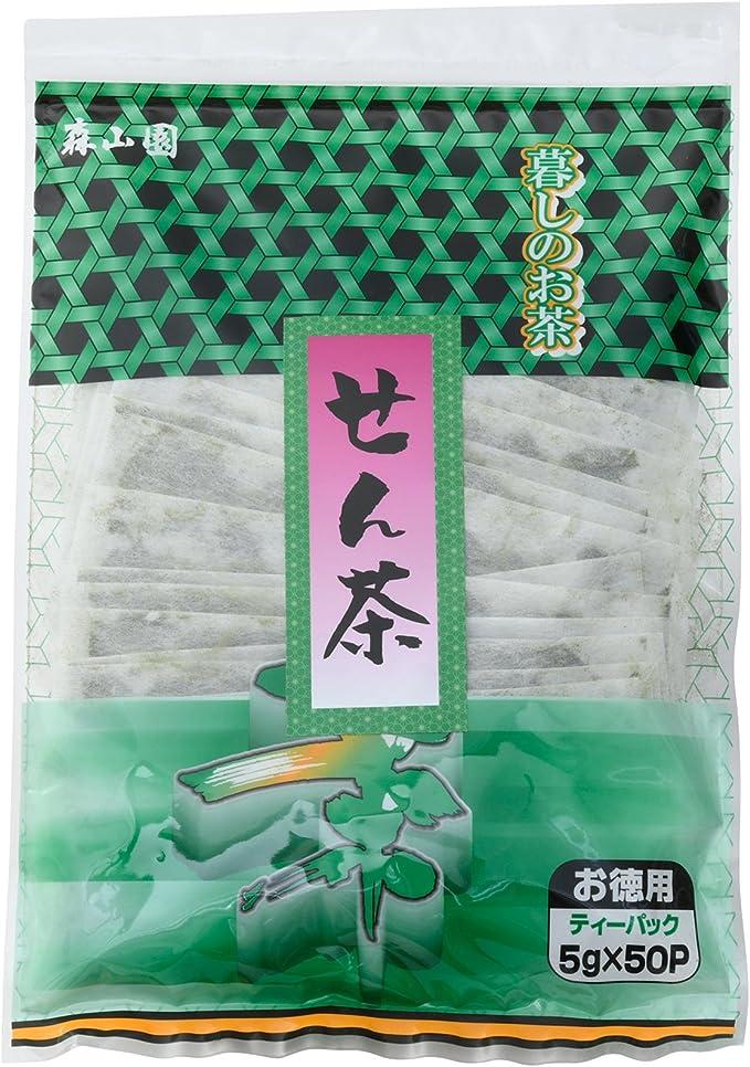 森山園 徳用 煎茶 ティーバッグ 5g×50P
