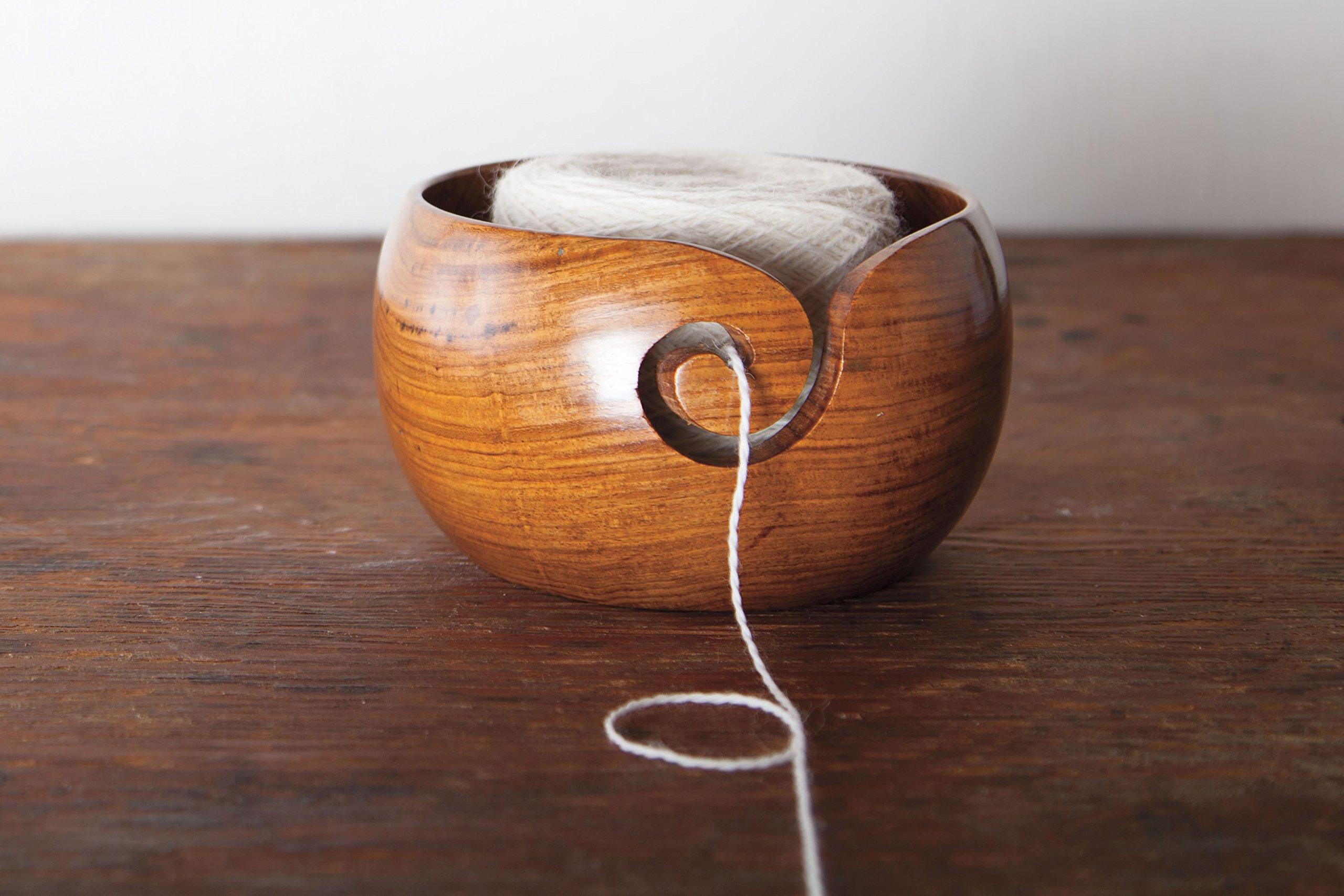 Knit Picks Yarn Bowl (Rosewood)