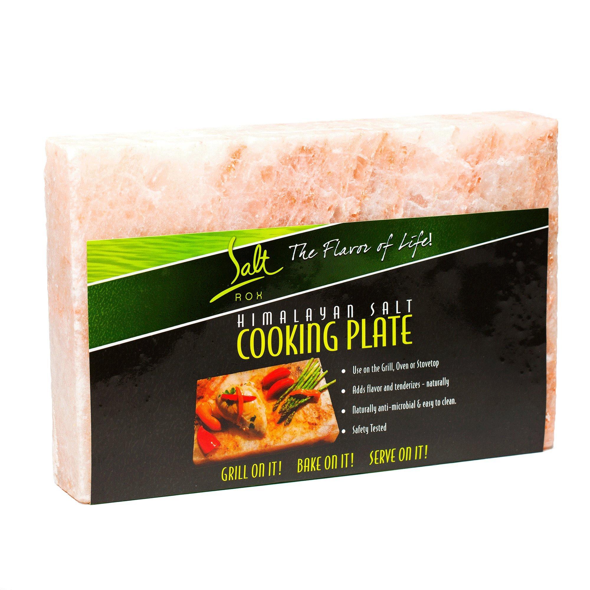 Salt Rox Natural Pink Himalayan Rock Cooking & Grilling Seasoning Stone, Large by Salt Rox (Image #2)