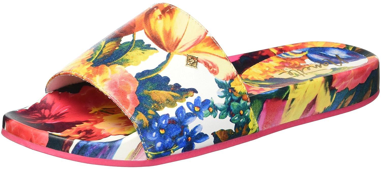 Nanette Lepore Women's Miriam_Print Slide Sandal B0773971C9 9 B(M) US|Pink Floral