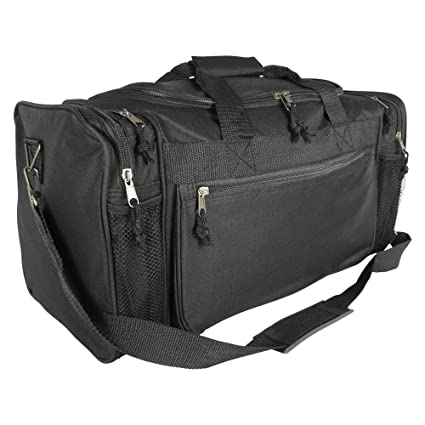 Amazon.com  Dalix 20 Inch Sports Duffle Bag with Mesh and Valuables ... 25ad83ac302c0